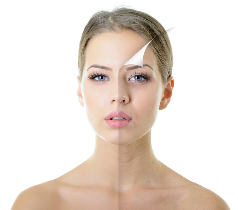 Revitalización facial intensiva-preventiva y antienvejecimiento